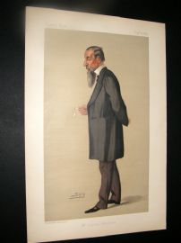 Vanity Fair Print 1890 Johnathan Hutchinson